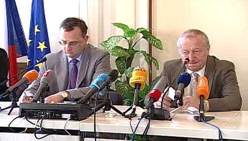 Petr Nečas a Eduard Janota