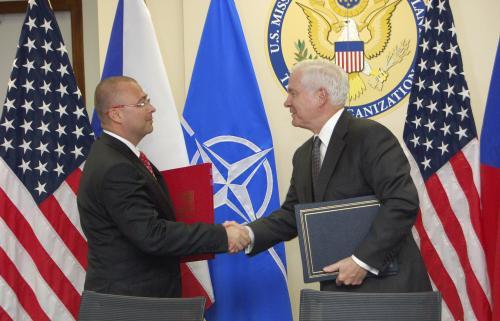 Podpis dohody mezi ČR a USA o vědecké spolupráci