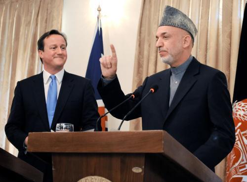 Cameron jako premiér poprvé v Afghánistánu