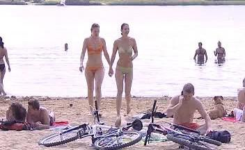 Rekreace u Boleveckého rybníka