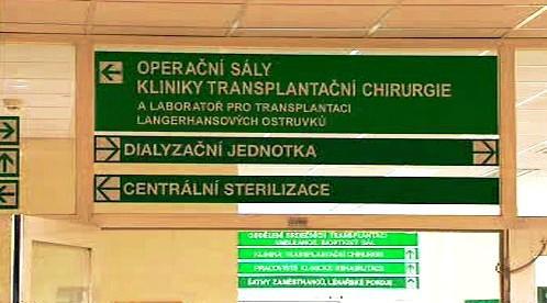 Transplantační oddělení