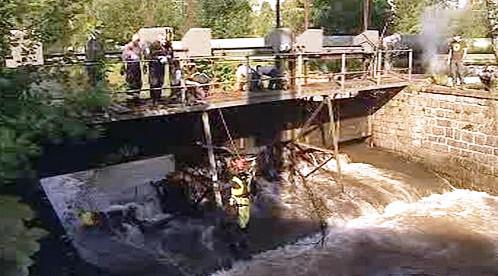 Pátrání v řece