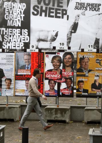 Nizozemská předvolební kampaň