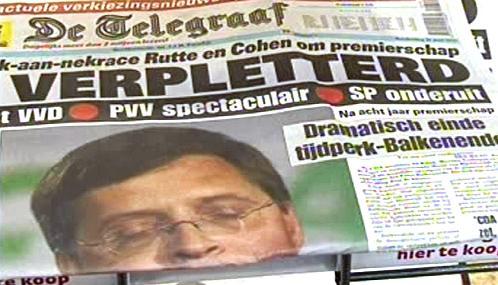 Nizozemský tisk k výsledkům voleb