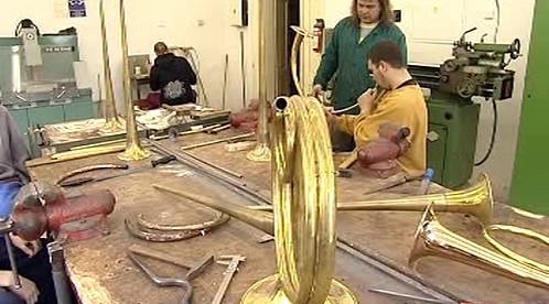 Dílna pro výrobu hudebních nástrojů