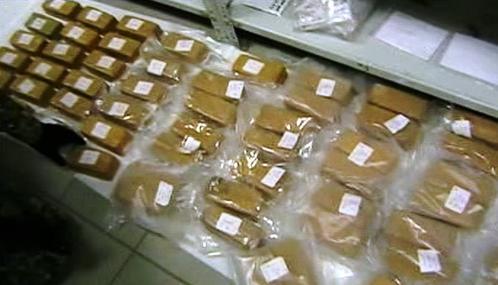 Maďarští celníci zadrželi 70 kilogramů heroinu