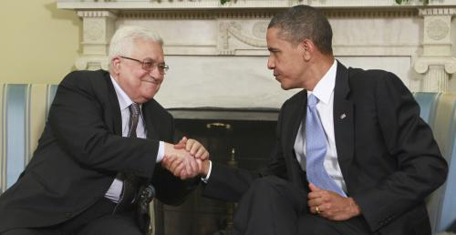 Mahmúd Abbás a Barack Obama