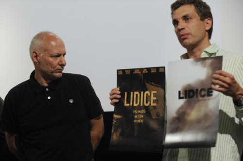 Příprava filmu Lidice