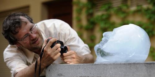 Václav Klaus z ledu