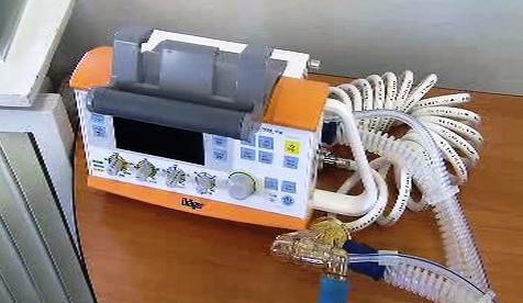 Plicní transportní ventilátor