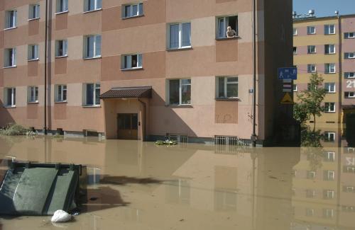 Záplavy v Polsku