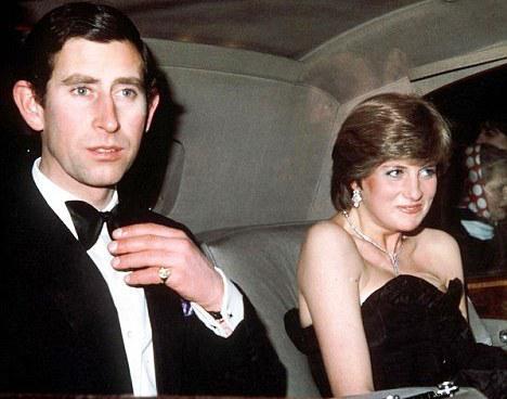 Princezna Diana a princ Charles