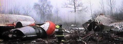 Nehoda letadla polského prezidenta