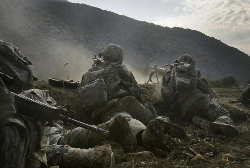 Boje amerických jednotek v Afghánistánu