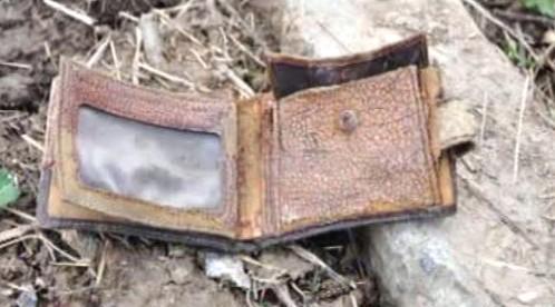 Peněženka jedné z obětí tragédie u Smolenska