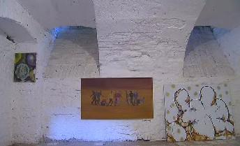 Nepovedené obrazy v galerii Ve sklepě