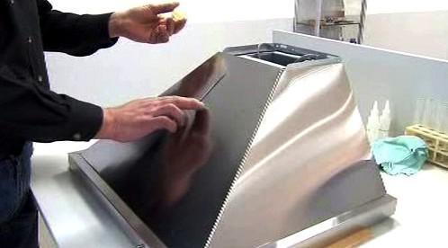 Výroba tekutého skla