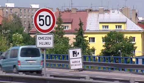 Omezení rychlosti na magistrále