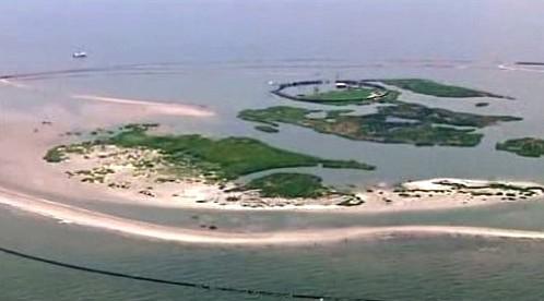 Ropná skvrna na pobřeží USA