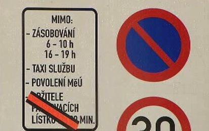 Omezení v dopravě