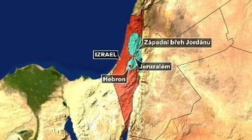 Izrael - Západní břeh Jordánu