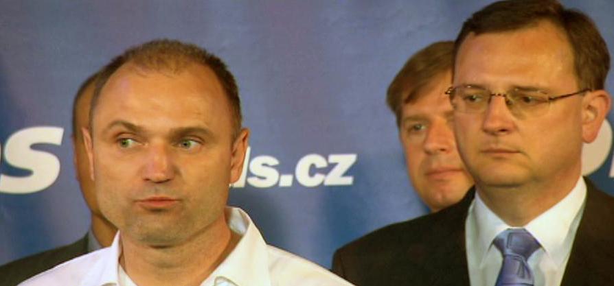 Ivan Langer, Petr Nečas