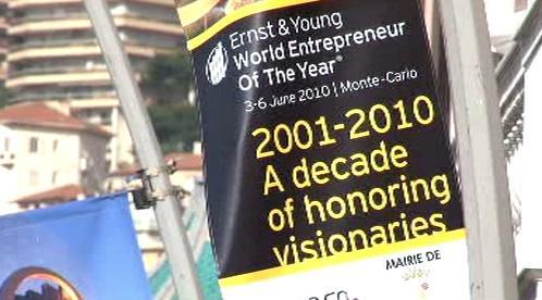 V Monaku probíhá soutěž Světový podnikatel roku