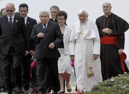 Papež Benedikt XVI. na Kypru