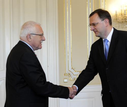 Václav Klaus, Petr Nečas