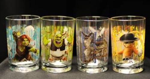 Zdravotně závadné skleničky