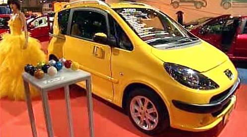 Peugeot na veletrhu
