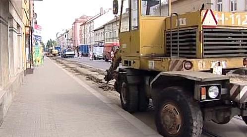 Oprava Slovanské ulice