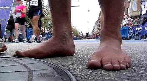 Maraton jedině bez bot!