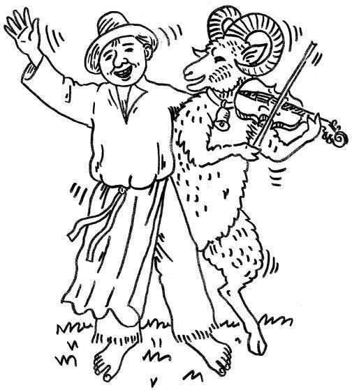 Zpívání s beranem