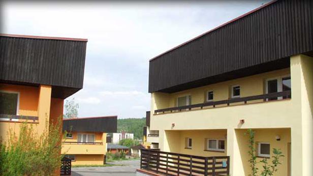 SOS vesnička v Doubí u Karlových Varů