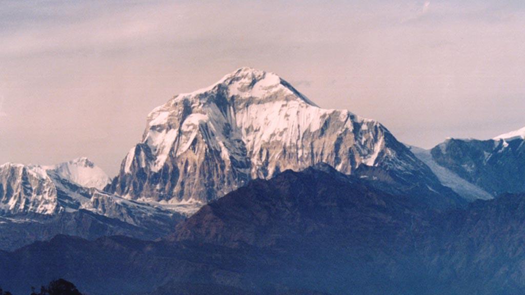 Dhaulagiri - sedmá nejvyšší hora světa