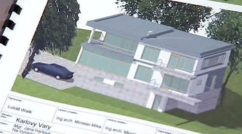 Studie nástavby rodinného domku