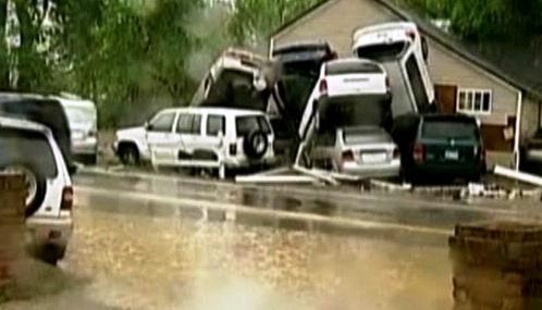 Následky záplav v Tennessee