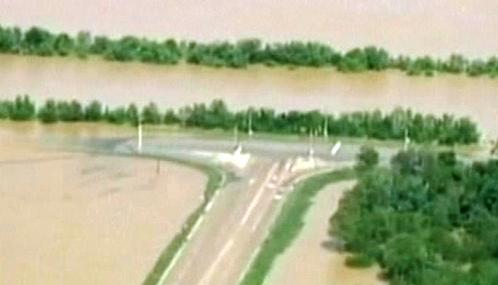 Záplavy na jihovýchodě USA