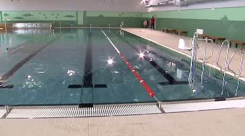 Bazén kdyňského aquaparku