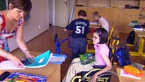 Děti s postižením ve škole