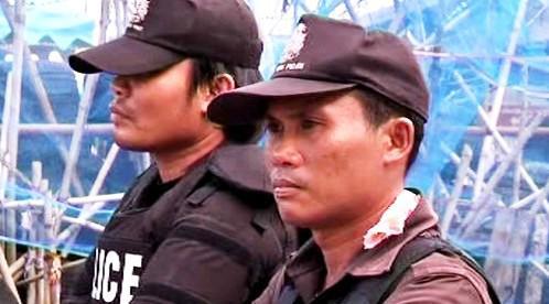 Thajská policie