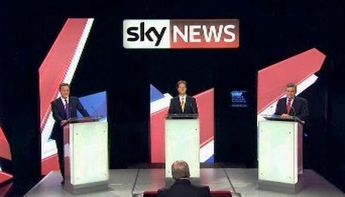 Britská předvolební debata