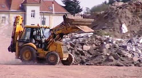 Stavba nové čtvrti v Olomouci