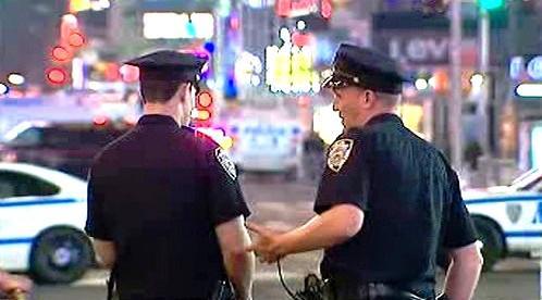 Policisté na Times Square