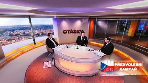 OVM - televizní duel Nečas a Paroubek
