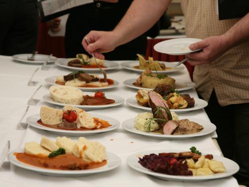 Jídla v soutěži Czech Food Cup