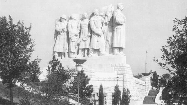 Stalinův pomník v Praze