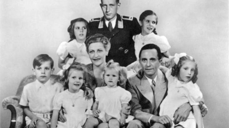 Joseph Goebbels s rodinou