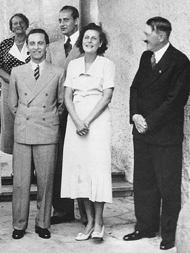 Joseph Goebbels s Adolfem Hitlerem